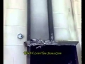 Muslims burn St.George Coptic Orthodox Church in Rafah,Sinai-Egypt & cracking Crosses